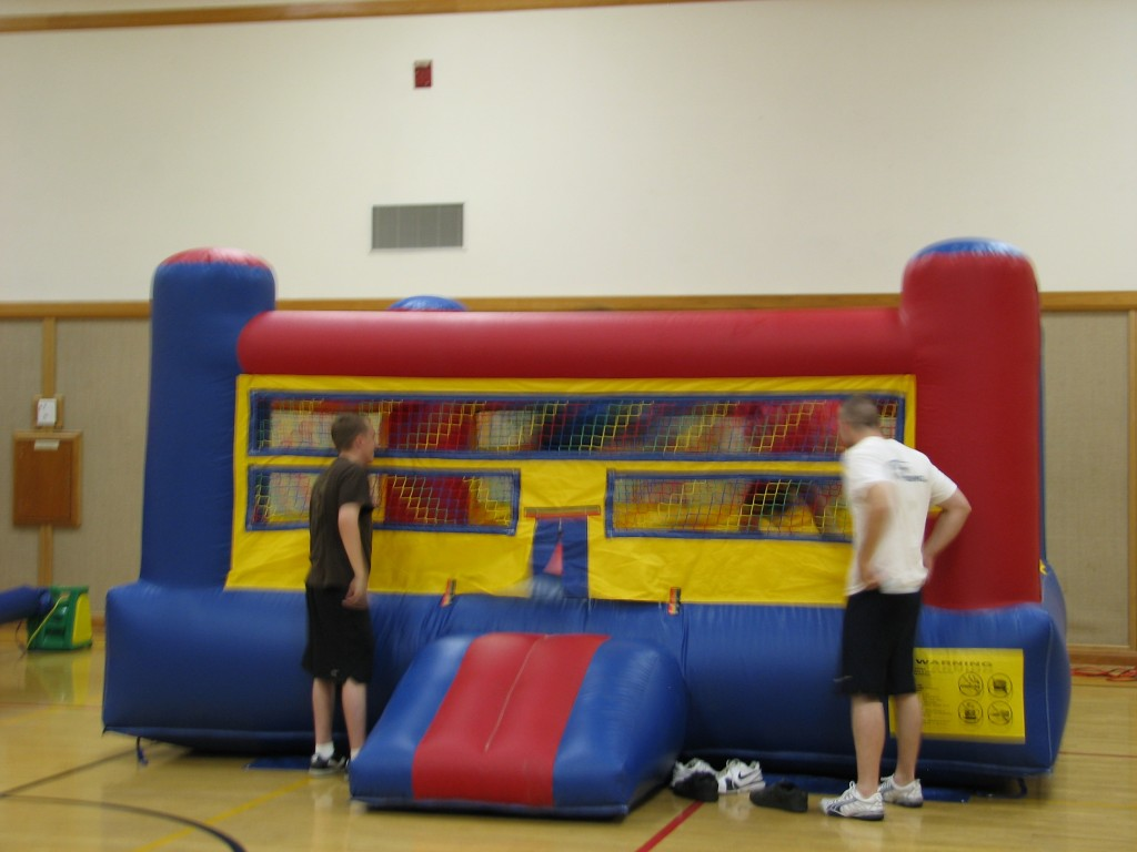Amazing Bounce Boxing Ring, Come with Gloves and Headgear!!! $125.00, ALL DAY, 15X 15 X10 high