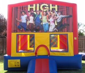 High School Musical Bounce House