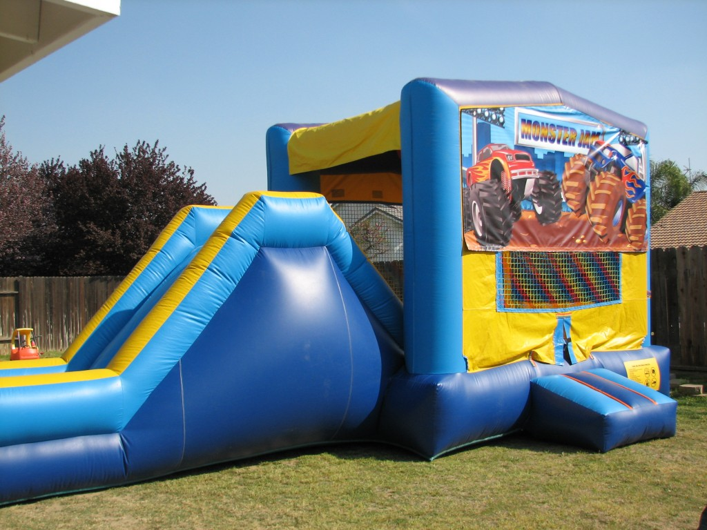 Fun House Combo with Basketball Hoop on Inside $125.00 All Day!!! over 60 Themes Available!!! 13 Wide 26 long 13 high