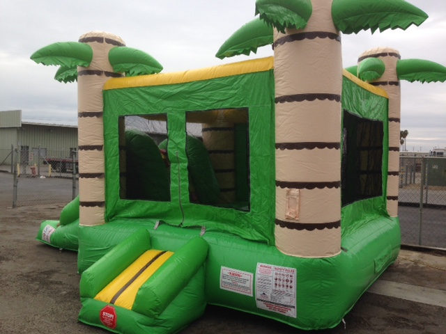 Kids Tropical Bounce House with Slide. 20 feet long, 13 wide, 13 High. For kids & Toddlers 8 & younger, New for 2017 available now! $135.00