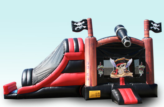 Pirate Combo with Basketball Hoop Inside!!! $195.00 All Day!!! 15 wide 32 long 15 High NEW FOR 2013!!!!