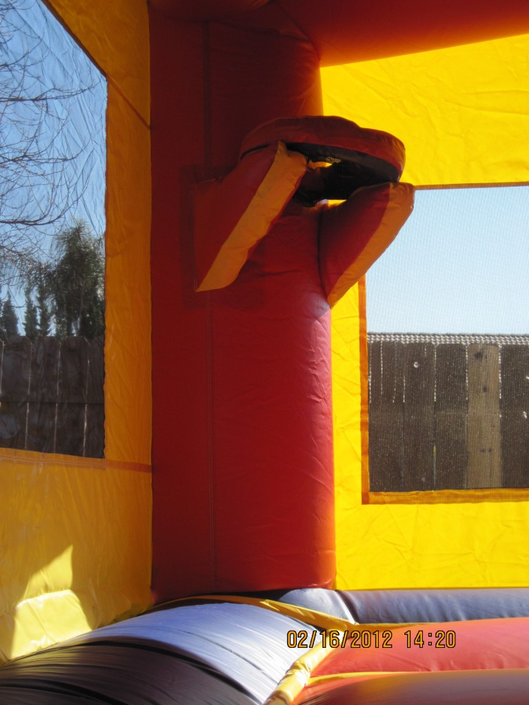 BasketBall Hoop Inside Bounce House Combos!!