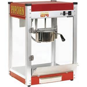 Deluxe Professional Popcorn Popper, $75.00 All Day, $55.00 with Inflatable Rental