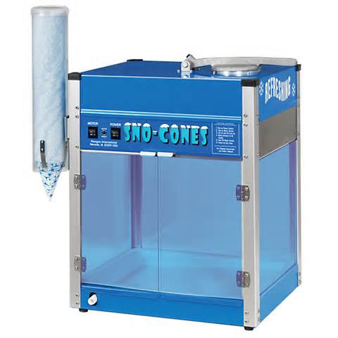 Snow Cone Machine, $75.00 All Day, 55.00 with Inflatable Rental