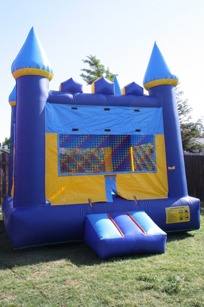 Blue Castle, $75.00 All Day, 13 X 13