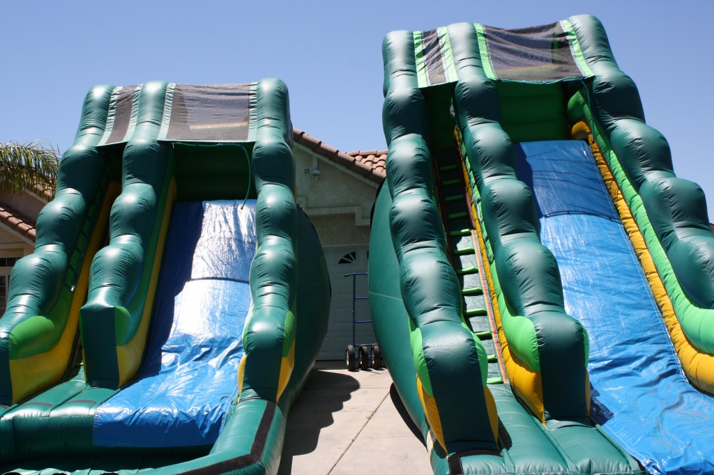 16 FT & 18 FT Tropical Water Slides!!! $210.00 & $225.00 All Day!