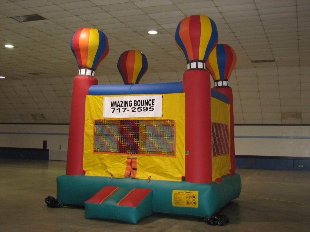 Adventure Balloon Bounce House, $75.00 All Day, 13 X 13