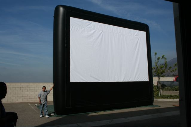 Movies Under the Stars!!!  20 ft High, 26 ft Wide, 16 ft Deep Requires 32 Ft Throw Distance, Call for Details!