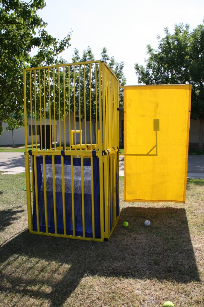 Yellow Folding Dunk Tank!! $175.00 All Day!!