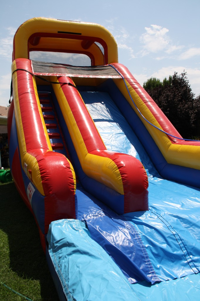 Brand New for June 2013!!! 16Ft. High Primary Colored Front load Water Slide with Pool!!! $195.00 All Day!!! 16 High 28 Long, 13 Wide