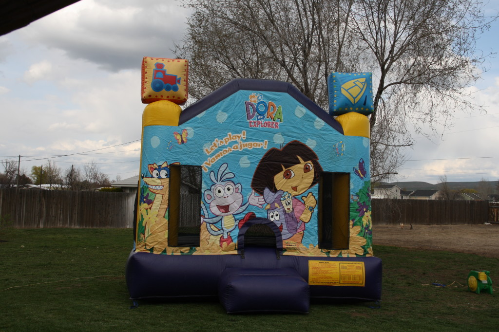 13 X 13 DORA BOUNCE HOUSE $85.00 SALE $75.00