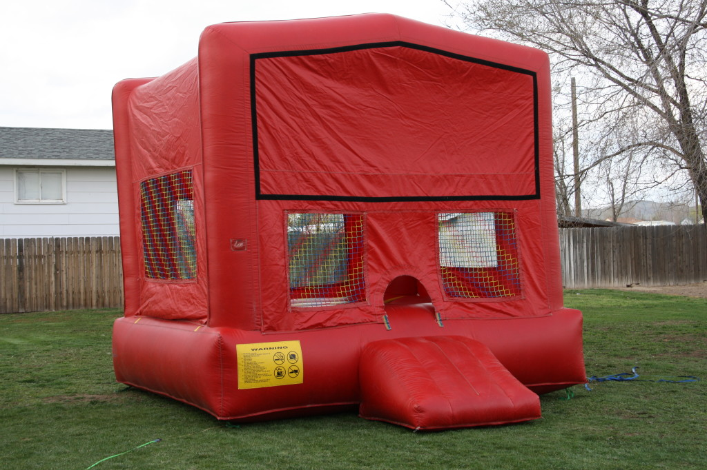 13 X 13 RED FUN HOUSE $75.00
