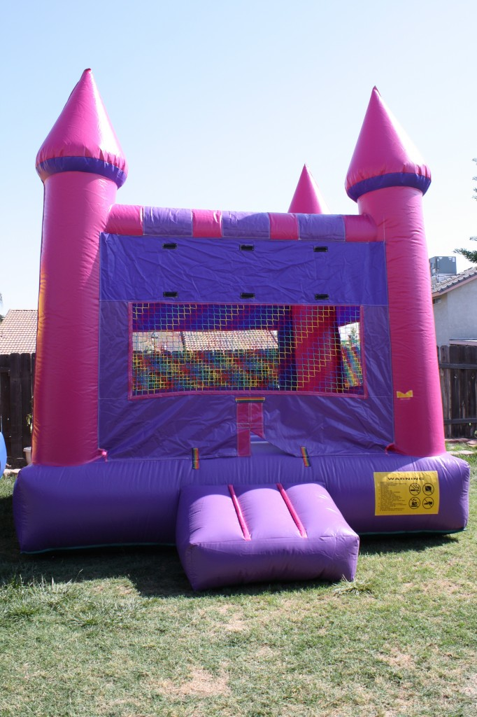 Girls Pink & Purple Castle, $75.00 All Day, 13 X 13