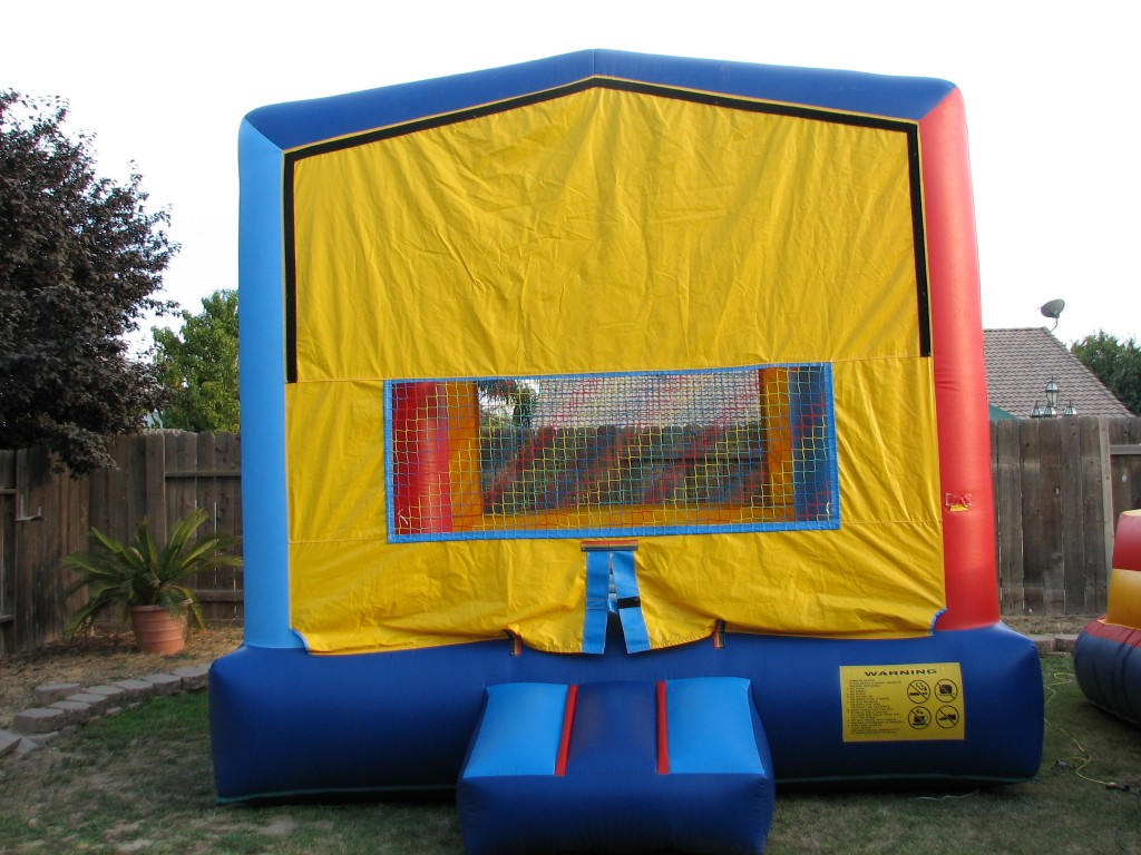 Royal Jump Modular Fun House with Basketball Hoop Inside, $75.00 All Day 13 X 13
