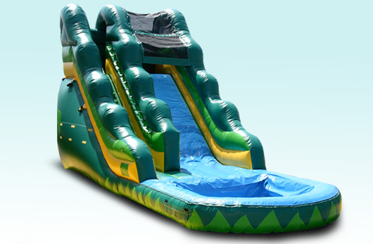 16 FT Tropical Water Slide with Pool!!! $210.00 ALL DAY!!! 16 High, 32 Long, 13 Wide