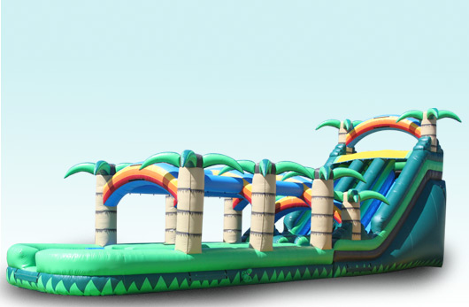 "20 FT High Tropical Water Slide with Slide & Slide!!! ""THE WATER MONSTER"" $595.00 ALL DAY!!!! 20 High 55 Long 14 Wide"