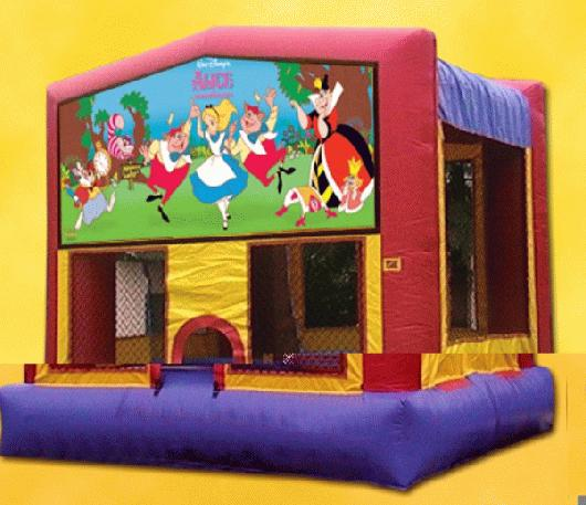 alice in wonderland 13 X 13 Bounce House, $75.00 all day
