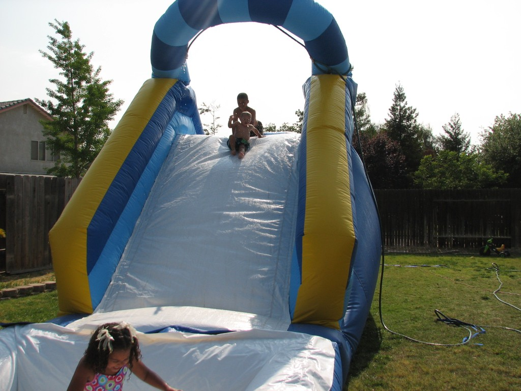 "16 FT Back Load Water Slide!! ""BIG BLUE"" $165.00 ALL DAY!!! 16 High 13 Wide 34 Long"