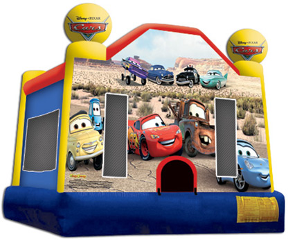 CARS 13 X 13 BOUNCE HOUSE $85.00 SALE $75.00
