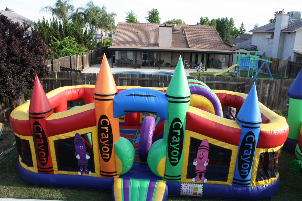 Deluxe Crayon Activity Obstacle Course, $195.00 All Day 17 X 21