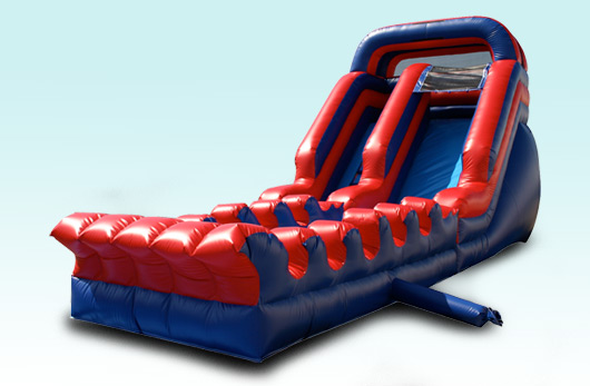 Red Lava Water Slide with Slip and Dip, 18 foot high 35 foot long $395.00 All Day!