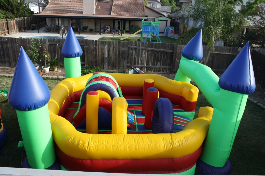 Castle Activity Obstacle Course, $125.00 All Day, 15 X 15