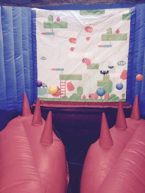for all the Angry Bird lovers, they will love the Happy Birds Interactive game $125 all day!