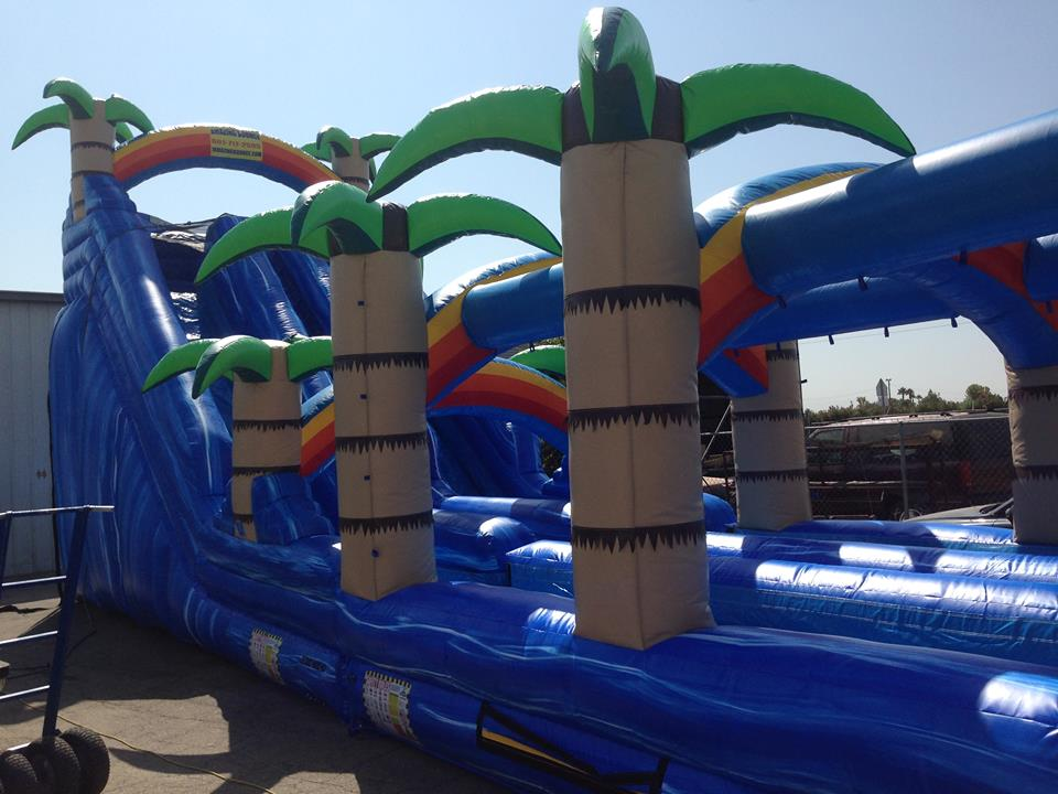 IT IS HERE, TRULY AMAZING!! MASSIVE THE ALL NEW AMAZING BOUNCE WATER MONSTER IT IS A TOWERING 22 FOOT HIGH GIANT, A TOTALY EPIC! 55 FOOT LONG! $595 FOR ALL DAY, RESERVE THIS BAD BOY NOW!!